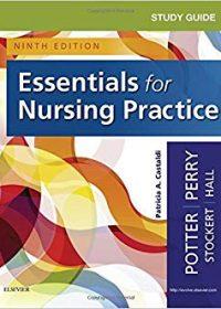 Study Guide for Essentials for Nursing Practice, 9e (Original Publisher PDF)