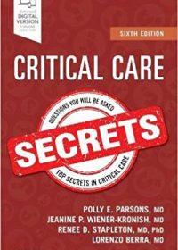 Critical Care Secrets, 6e (Original Publisher PDF)