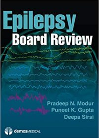 Epilepsy Board Review, 1e (Original Publisher PDF)