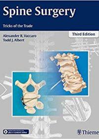Spine Surgery: Tricks of the Trade, 3e (Original Publisher PDF)