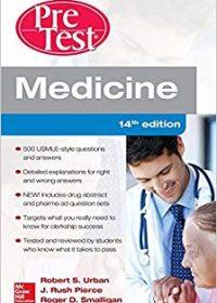Medicine PreTest Self-Assessment and Review, 14e (Original Publisher PDF)
