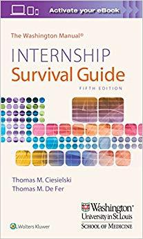 Internship Survival guide washington manual pdf Briggs Test
