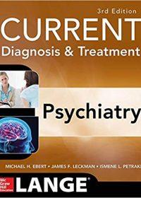 CURRENT Diagnosis & Treatment Psychiatry, 3e (EPUB)