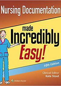 Nursing Documentation Made Incredibly Easy, 5e (EPUB)