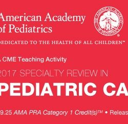 Specialty Review In Pediatric Cardiology 2017 (Videos)