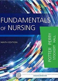 Fundamentals of Nursing, 9e (EPUB)