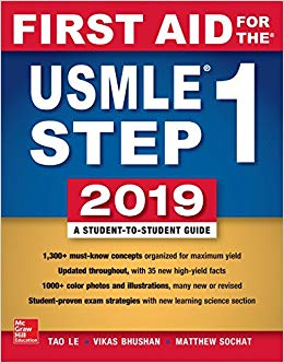 First Aid for the USMLE Step 1 2019 (Original Publisher PDF)
