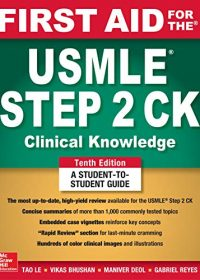 First Aid for the USMLE Step 2 CK, 10e (Original Publisher PDF)