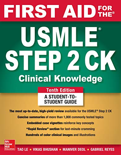 First Aid for the USMLE Step 2 CK, 10e (Original Publisher PDF)