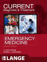 CURRENT Diagnosis and Treatment Emergency Medicine, 7e (EPUB)