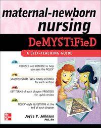 Maternal-Newborn Nursing DeMYSTiFieD: A Self-Teaching Guide, 1e (EPUB)