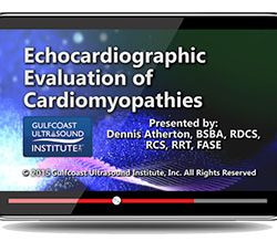 Echocardiographic Evaluation of Cardiomyopathies (Videos+PDFs)
