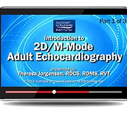Introduction to 2D/M-Mode Adult Echocardiography (Videos+PDFs)