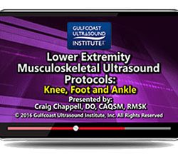 Lower Extremity Musculoskeletal Ultrasound Protocols (Videos)
