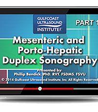 Mesenteric and Porto-Hepatic Duplex Sonography (Videos+PDFs)
