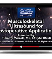 Musculoskeletal Ultrasound for Postoperative Applications (Videos+PDFs)