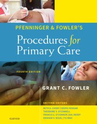 Pfenninger and Fowler's Procedures for Primary Care, 4e (True PDF)