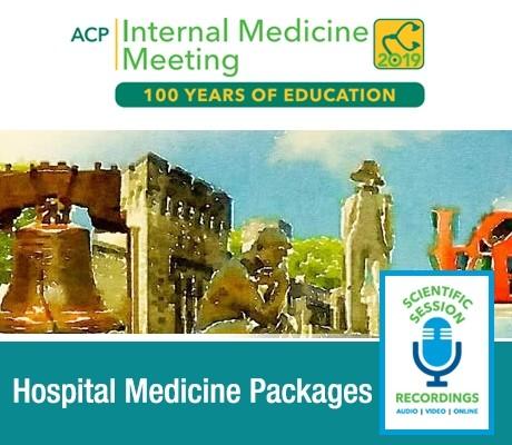 ACP Hospital Medicine Package 2019 (Videos)
