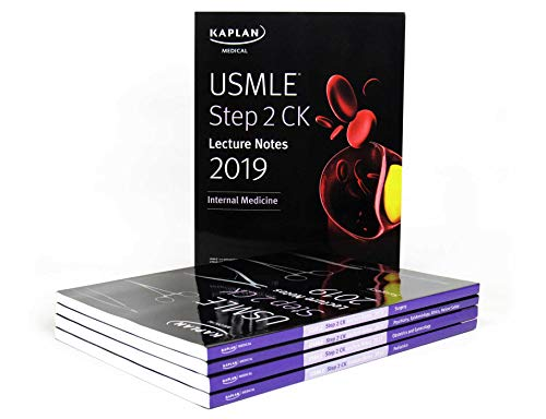 Kaplan USMLE Step 2 CK Lecture Notes 2019: 5-book set (Original Publisher PDF)