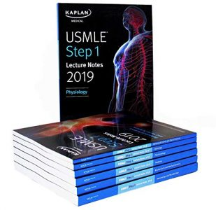 Kaplan USMLE Step 1 Lecture Notes 2019: 7-Book Set (Original