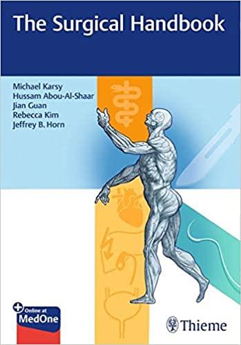 The Surgical Handbook (Original Publisher PDF)
