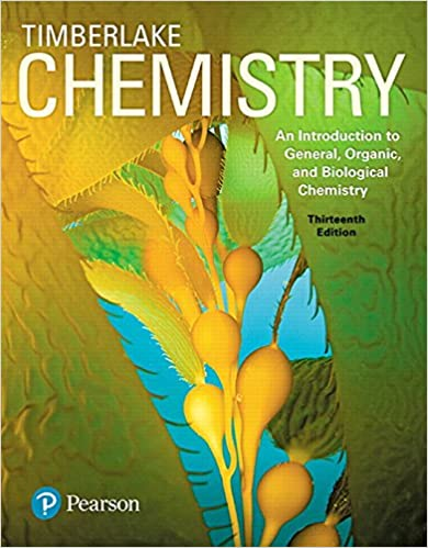 Chemistry: An Introduction to General, Organic, and Biological Chemistry, 13th (EPUB)