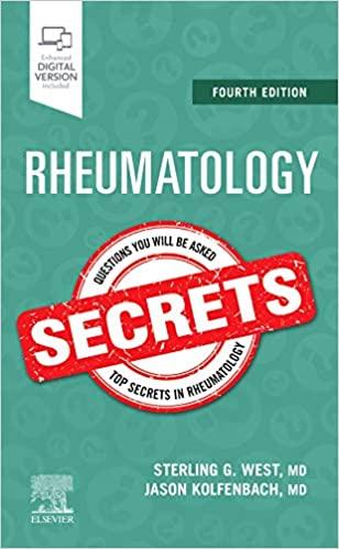 Rheumatology Secrets, 4e (True PDF)